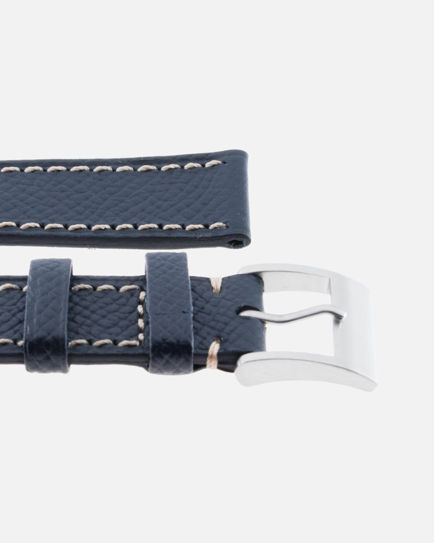Molequin Navy Blue Grained Calf