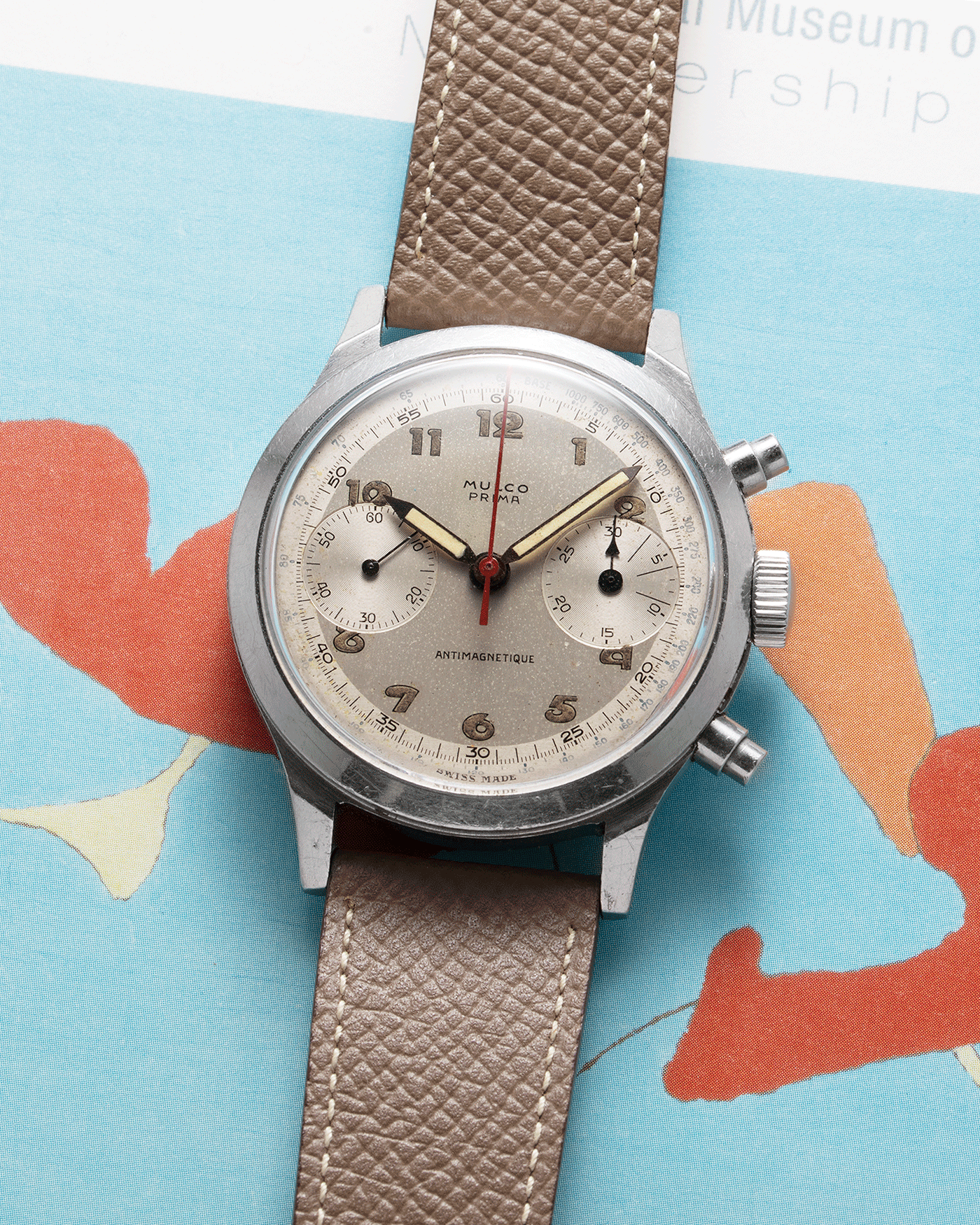 Mulco Prima Spillman Case Chronograph Vintage Watch | S.Song Vintage Watches