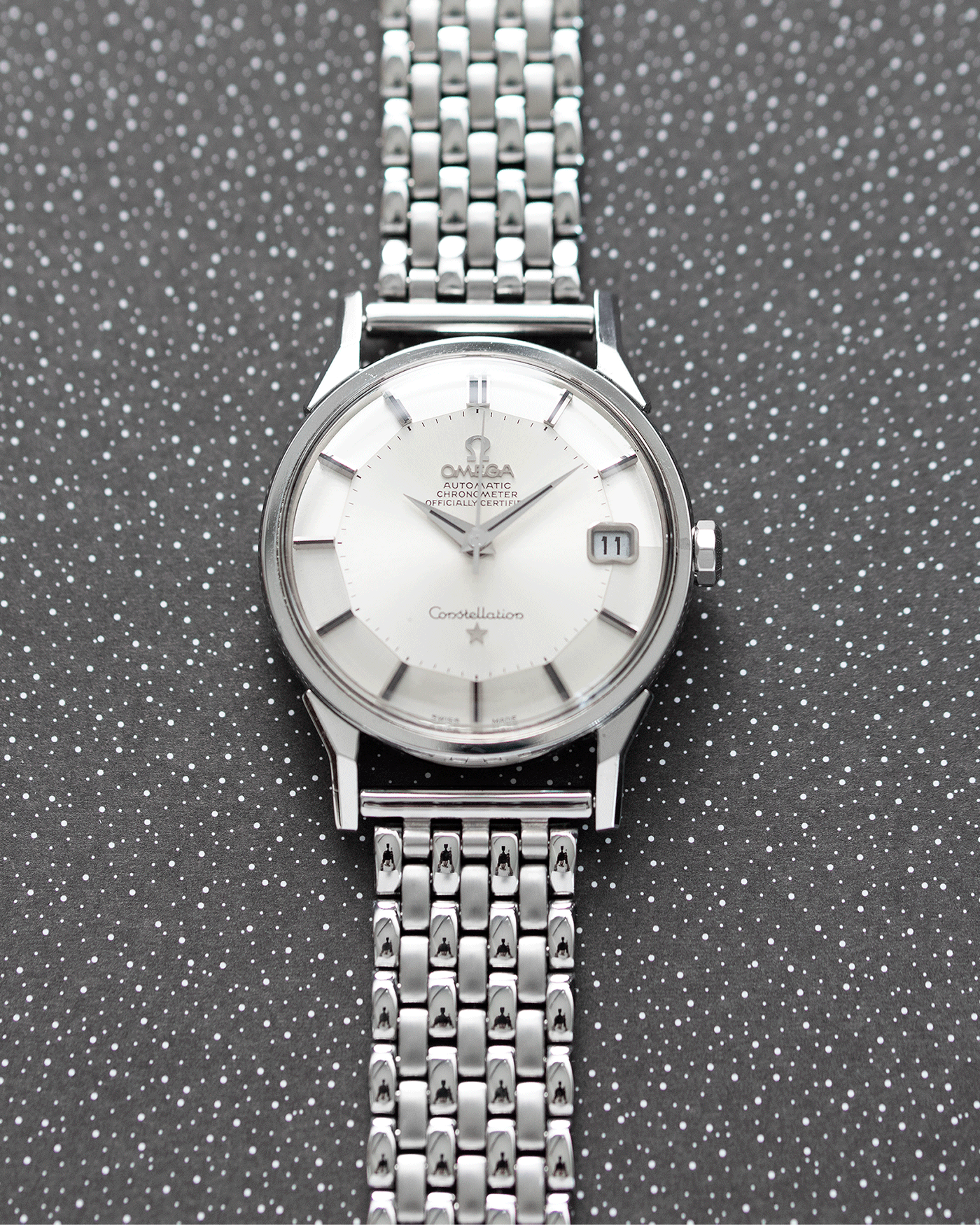Omega Constellation 'Pie Pan' 168.005
