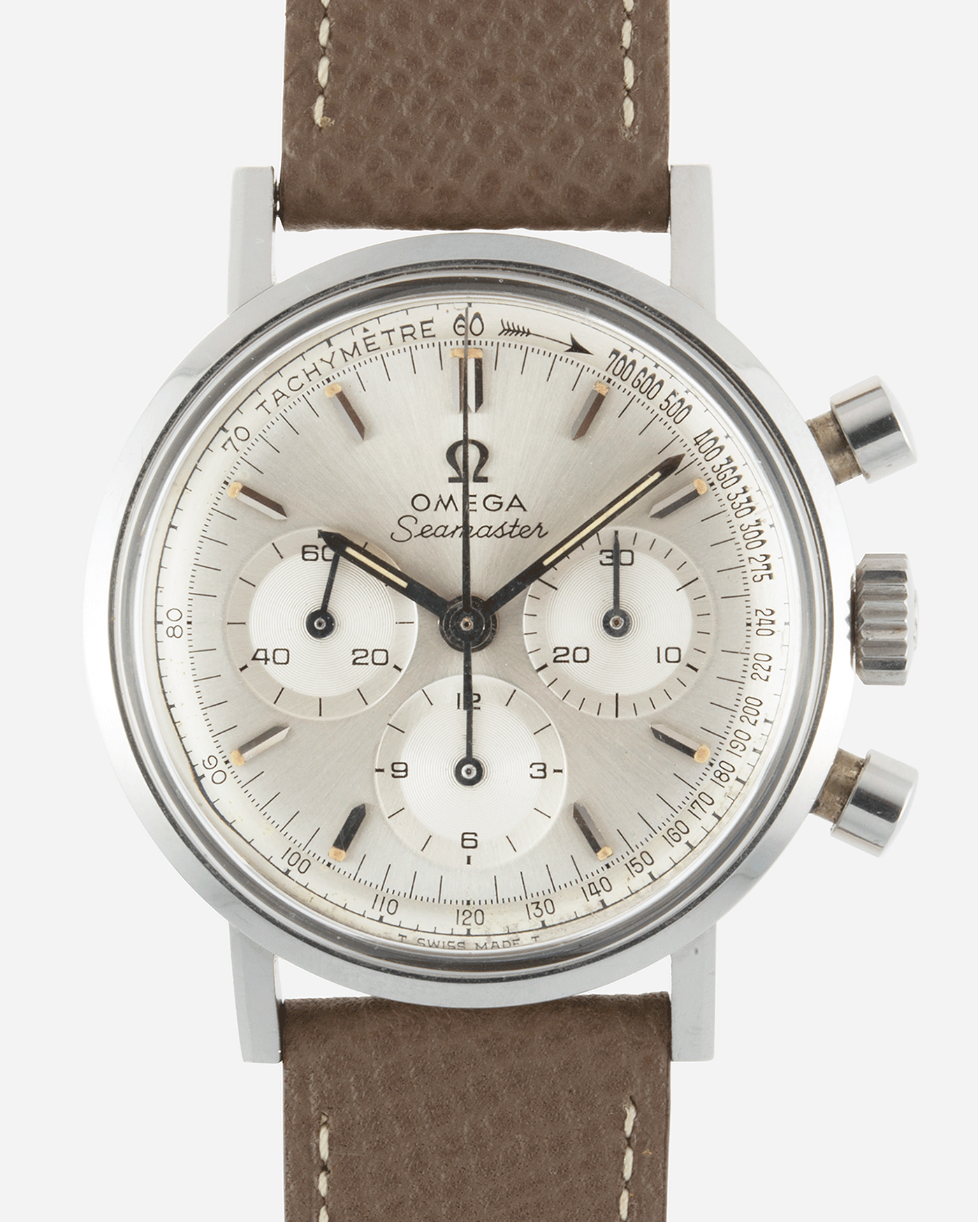 Omega Seamaster 321 Chronograph 145.005-67 Vintage Dive Watch | S.Song Vintage Watches For Sale