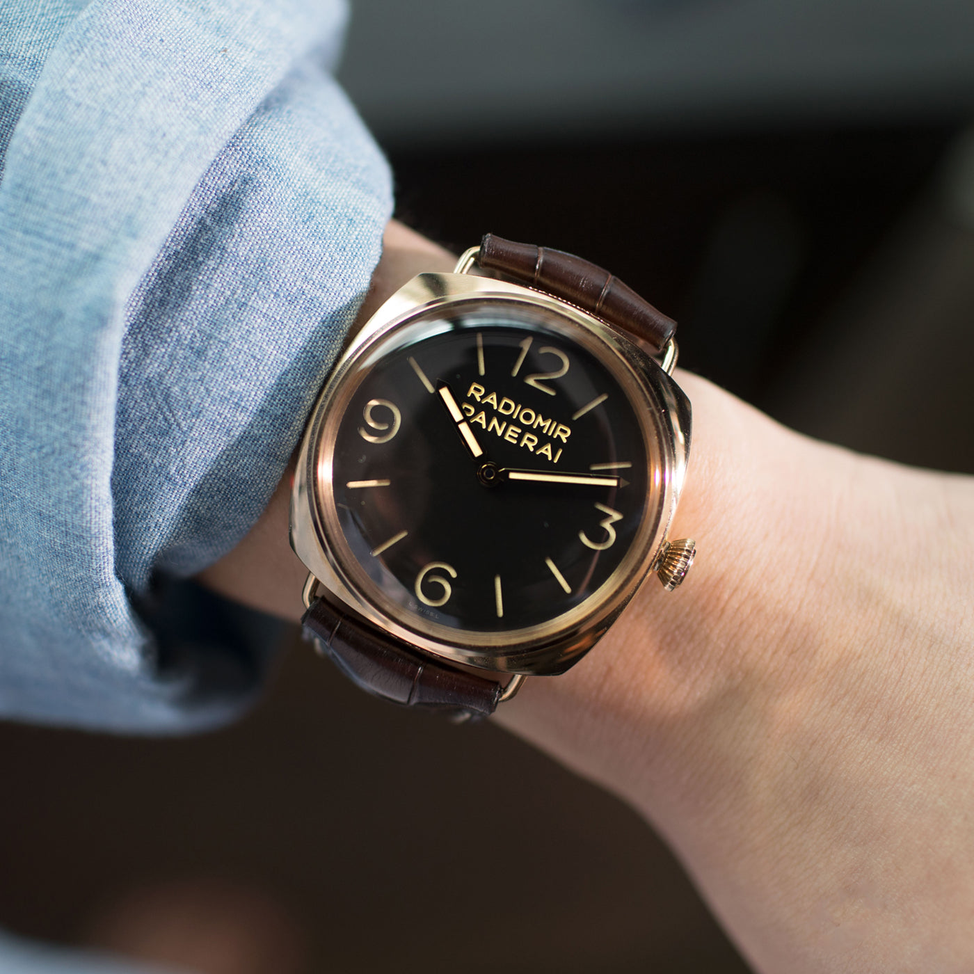 Panerai Radiomir 3 Days Oro Rosso Pam 379 S Song Vintage