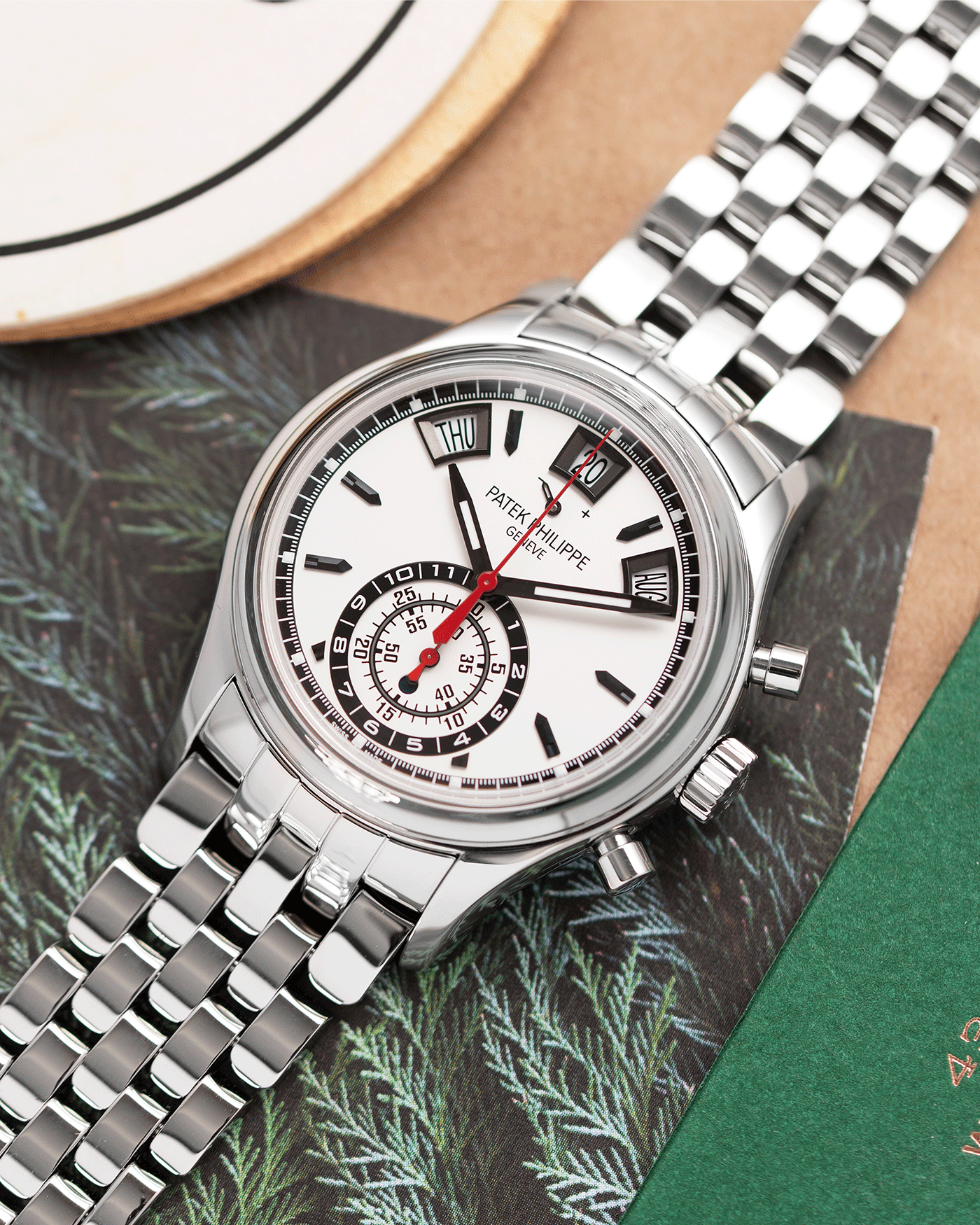 Patek Philippe 5960A Annual Calendar Chronograph Watch | S.Song Timepieces