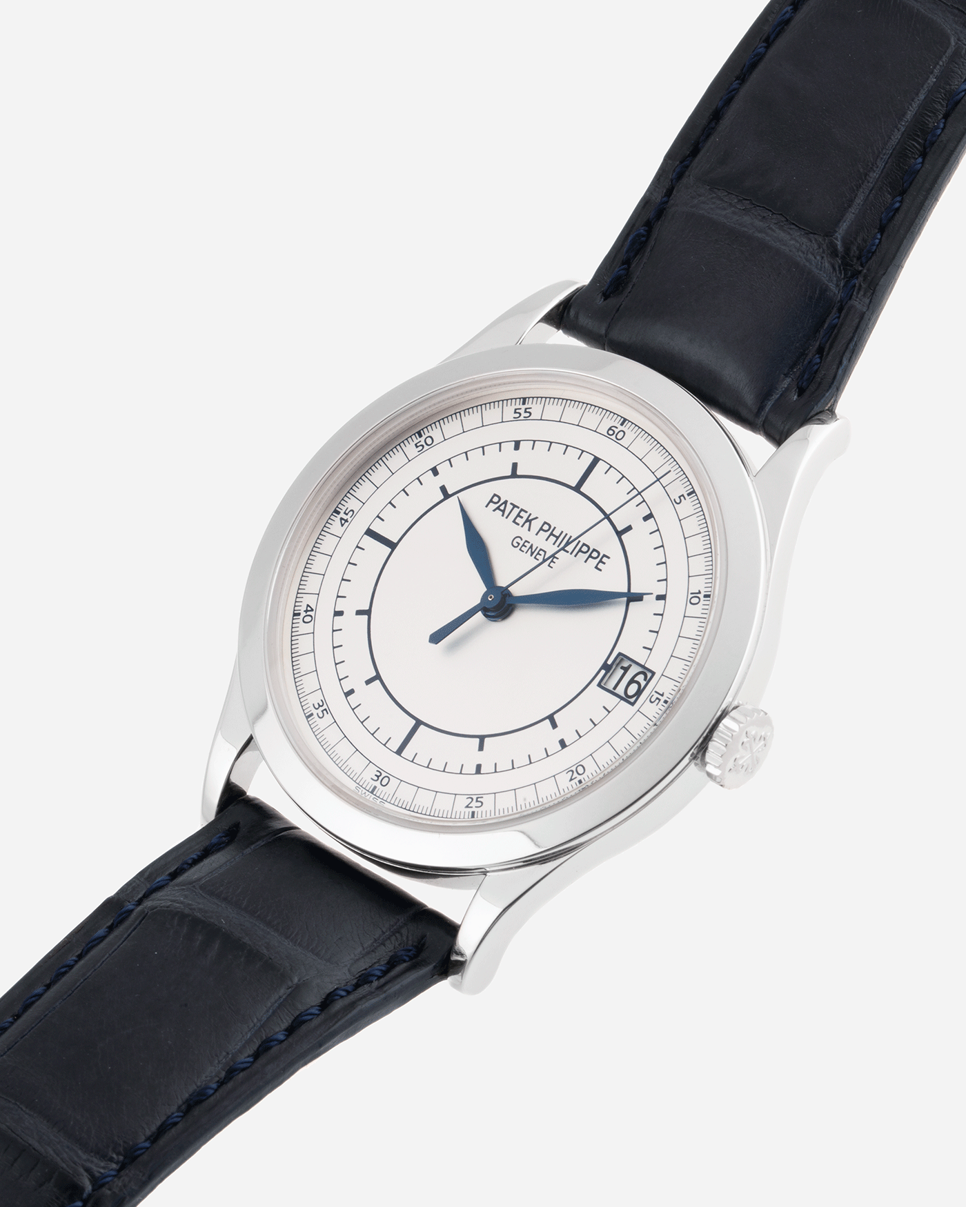 Patek Philippe Calatrava 5296G White Gold Watch | S.Song Timepieces