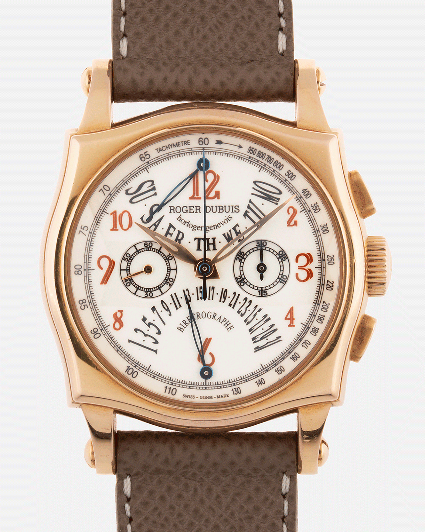 Roger Dubuis Sympathie 40 Biretrograde Chronograph Watch | S.Song Timepieces