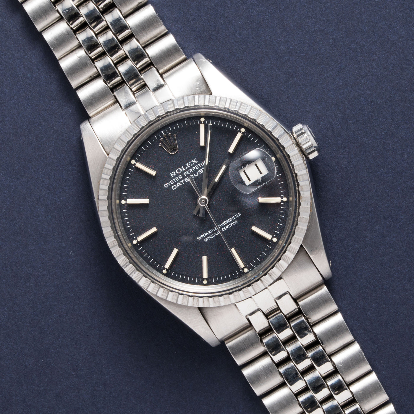 Rolex Datejust 1603 'Red Flake'
