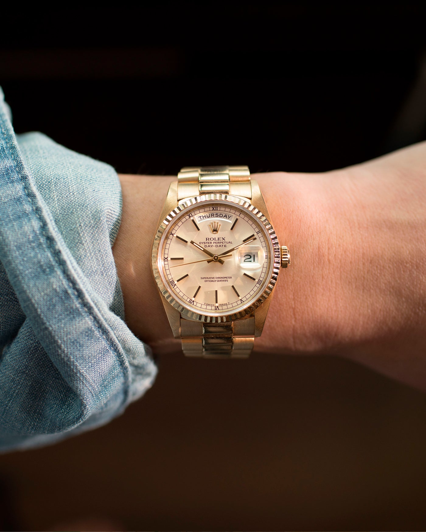 Rolex Day-Date 18238 Full Set