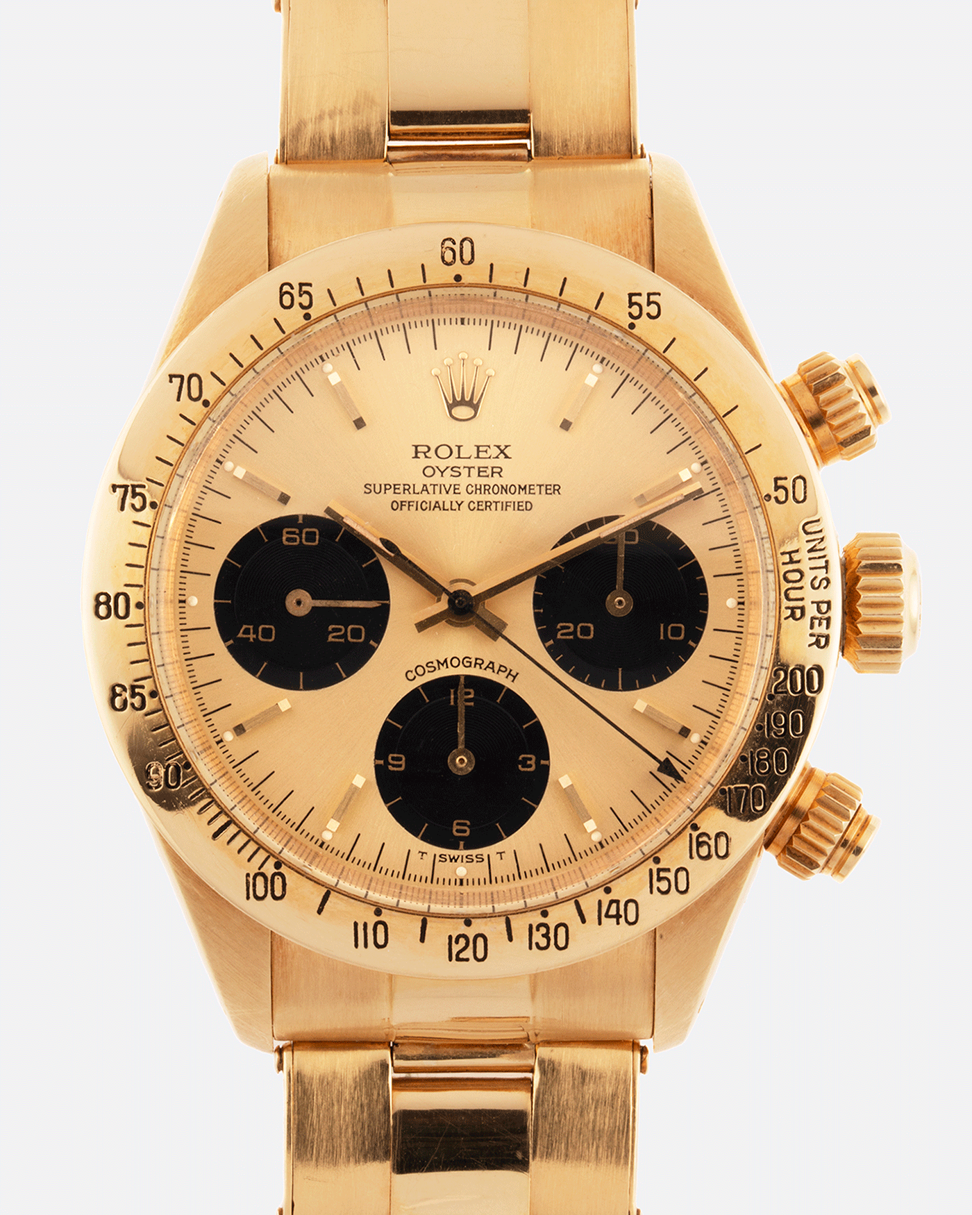 Rolex Cosmograph Daytona 6265 Vintage Yellow Gold Chronograph Watch | S.Song Vintage Timepieces "|1400|1750|?|1ae571b7f5044bb7e7210b261fef2c8f|False|UNLIKELY|0.35173970460891724