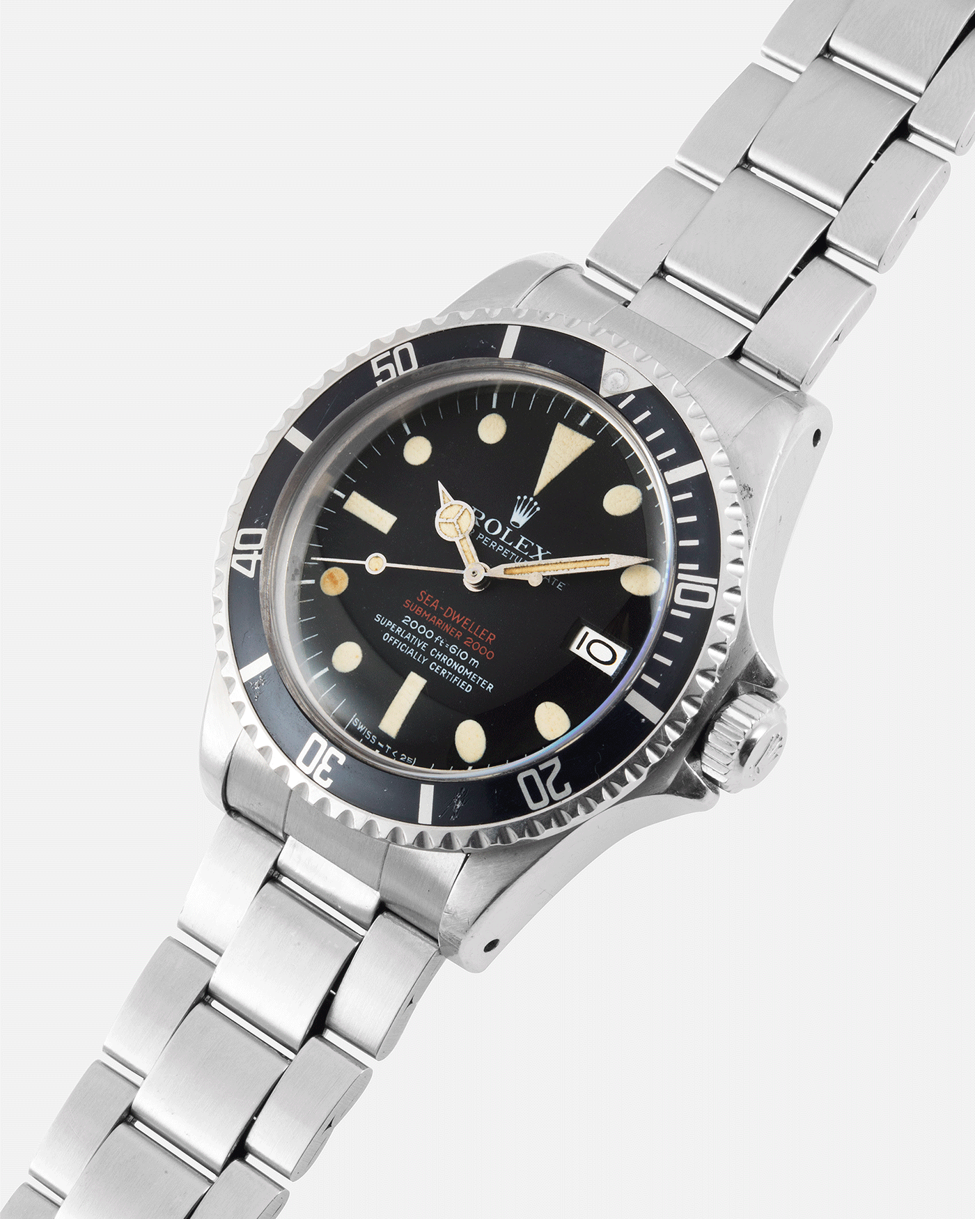 Rolex Double Red Sea Dweller Mk IV Sport Diver Watch | S.Song Vintage Watches For Sale