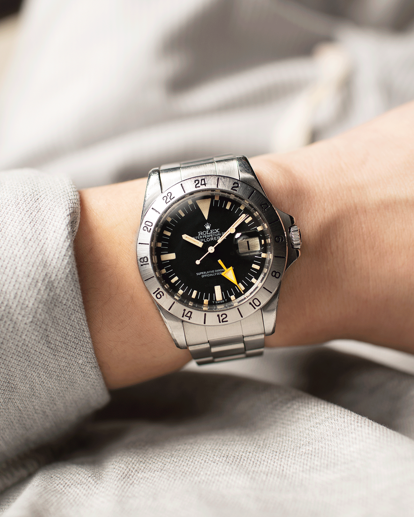 Rolex Explorer II Steve Mcqueen Freccione 1655 Watch | S.Song Vintage Watches For Sale