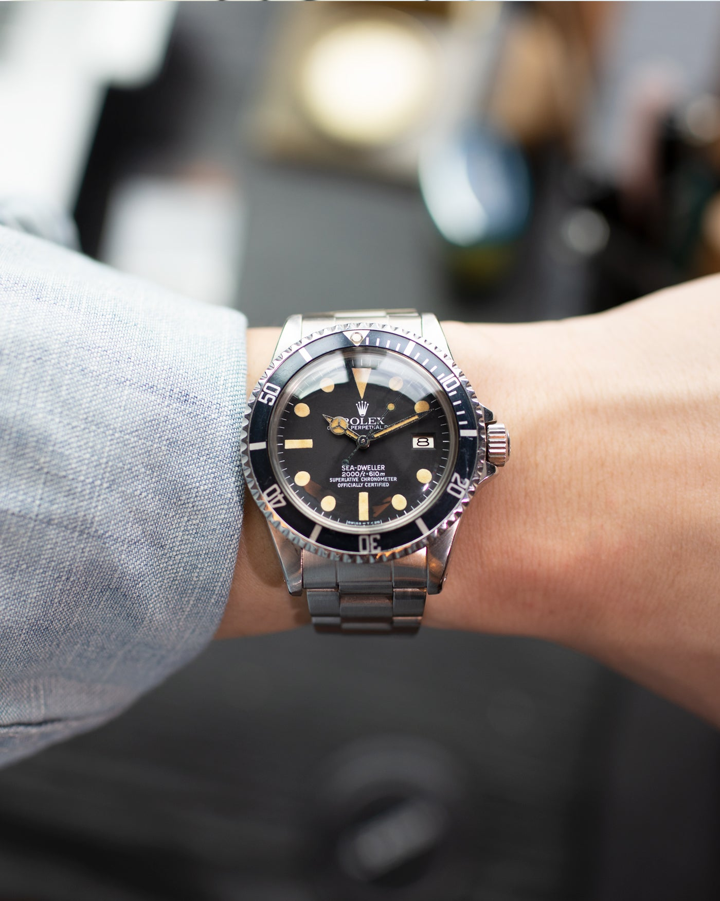 Rolex Sea Dweller 'Great White' 1665