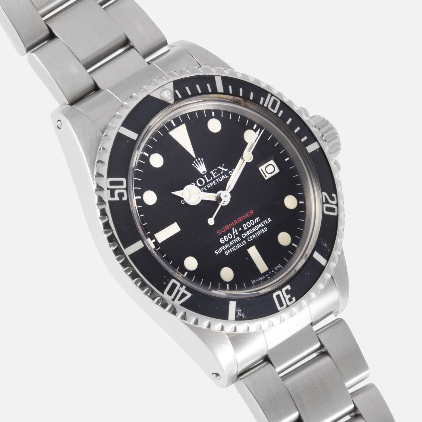 Rolex Submariner 1680 Red Mk V