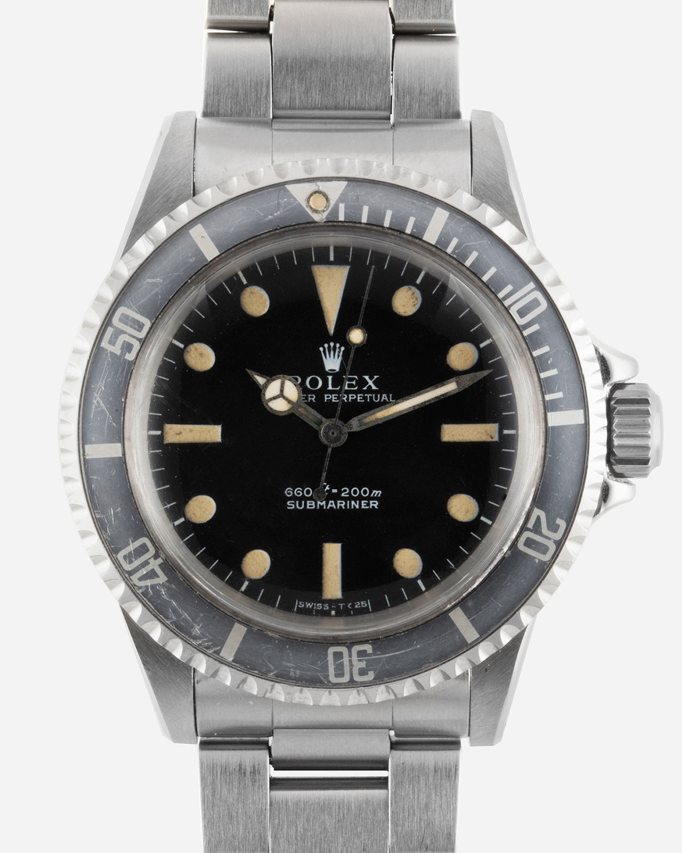 Rolex Submariner 5513 Non Serif Vintage Sport Watch | S.Song Vintage Watches For Sale
