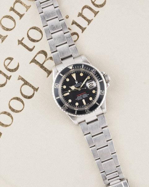 Rolex Red Submariner 1680 Mk IV