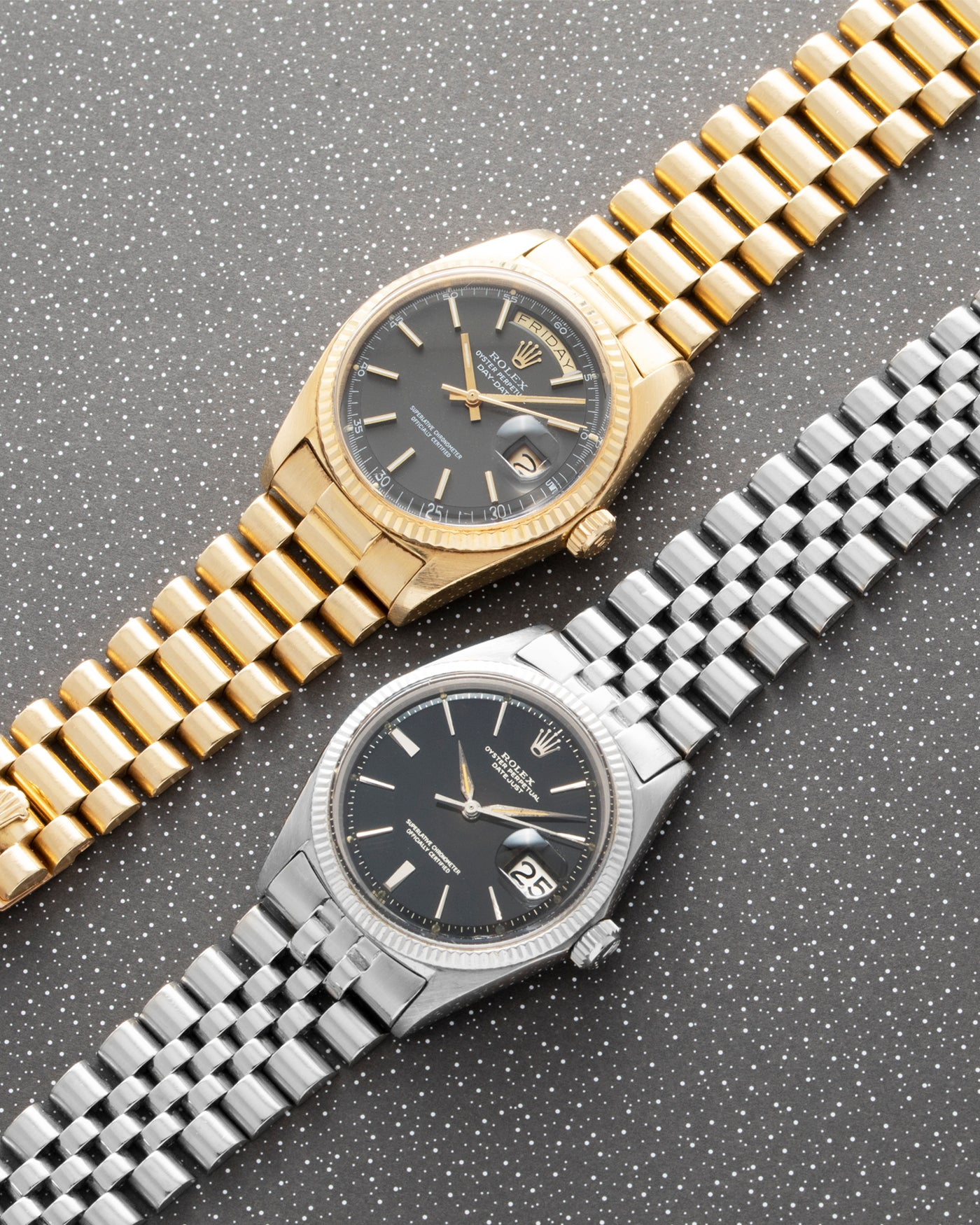 Rolex Day Date 1803 Matte Grey Brown