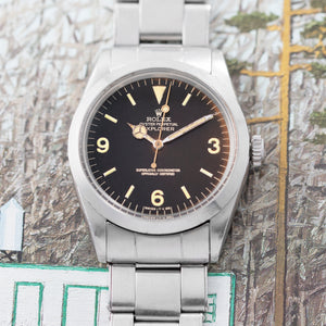 Rolex Explorer Ref. 1016 Tropical Gilt