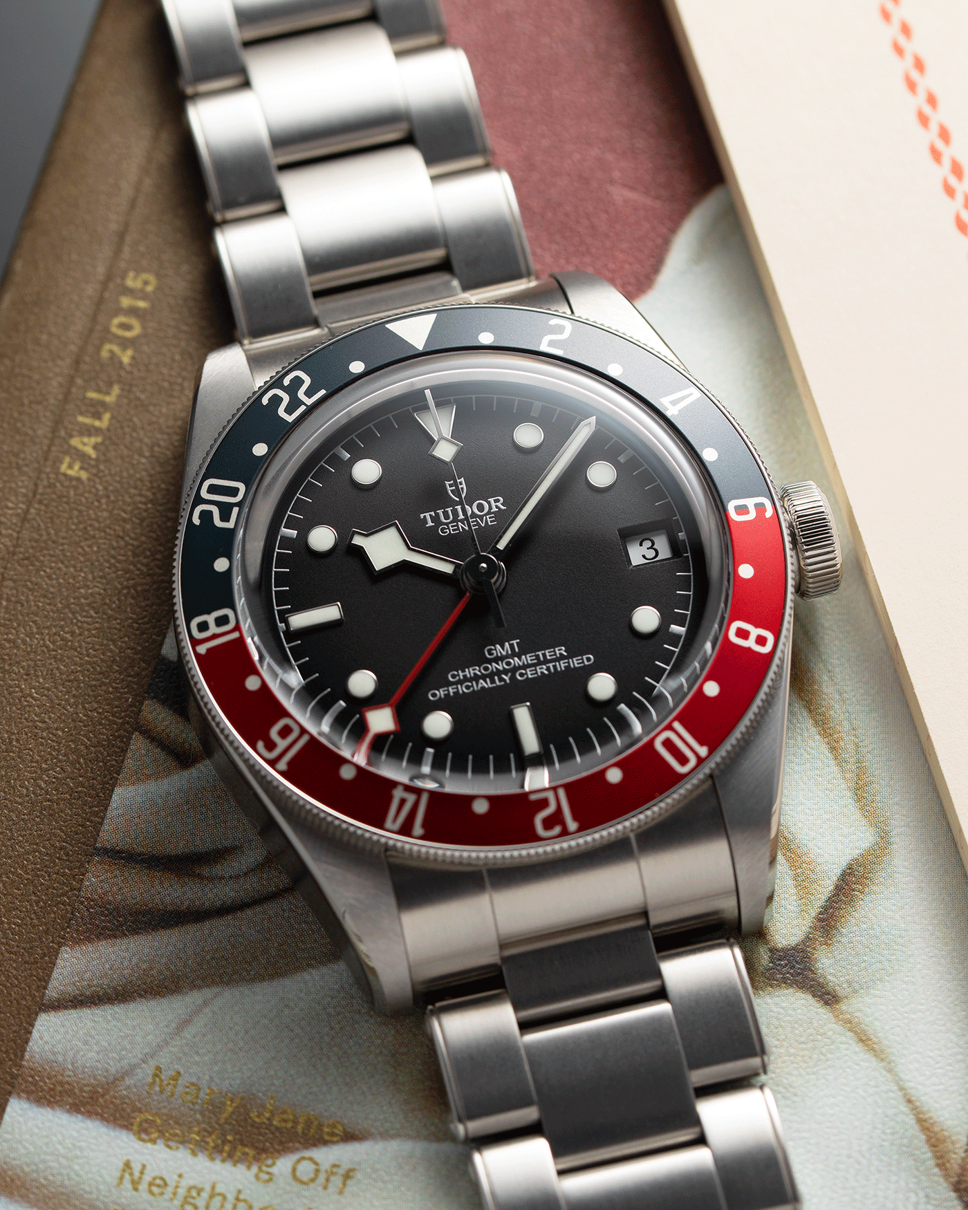 Brand: Tudor Year: 2020 Model: Black Bay GMT Reference Number: 79830RB Material: Stainless Steel Movement: Cal. MT5652 Case Diameter: 41mm Bracelet: Stainless Steel Tudor Bracelet