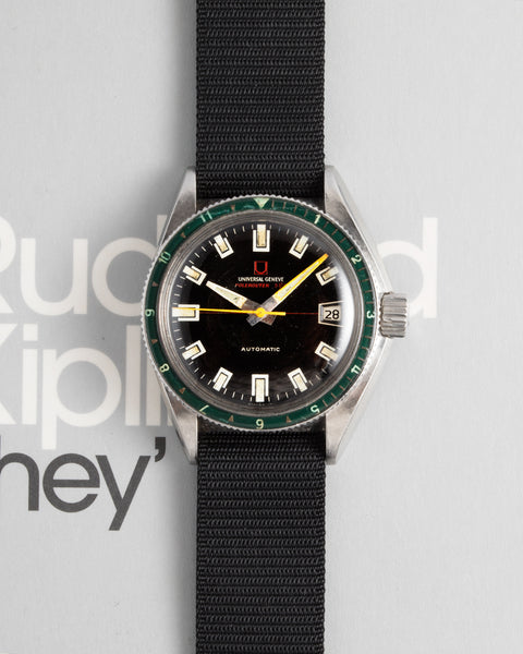Universal Geneve Polerouter Sub Green