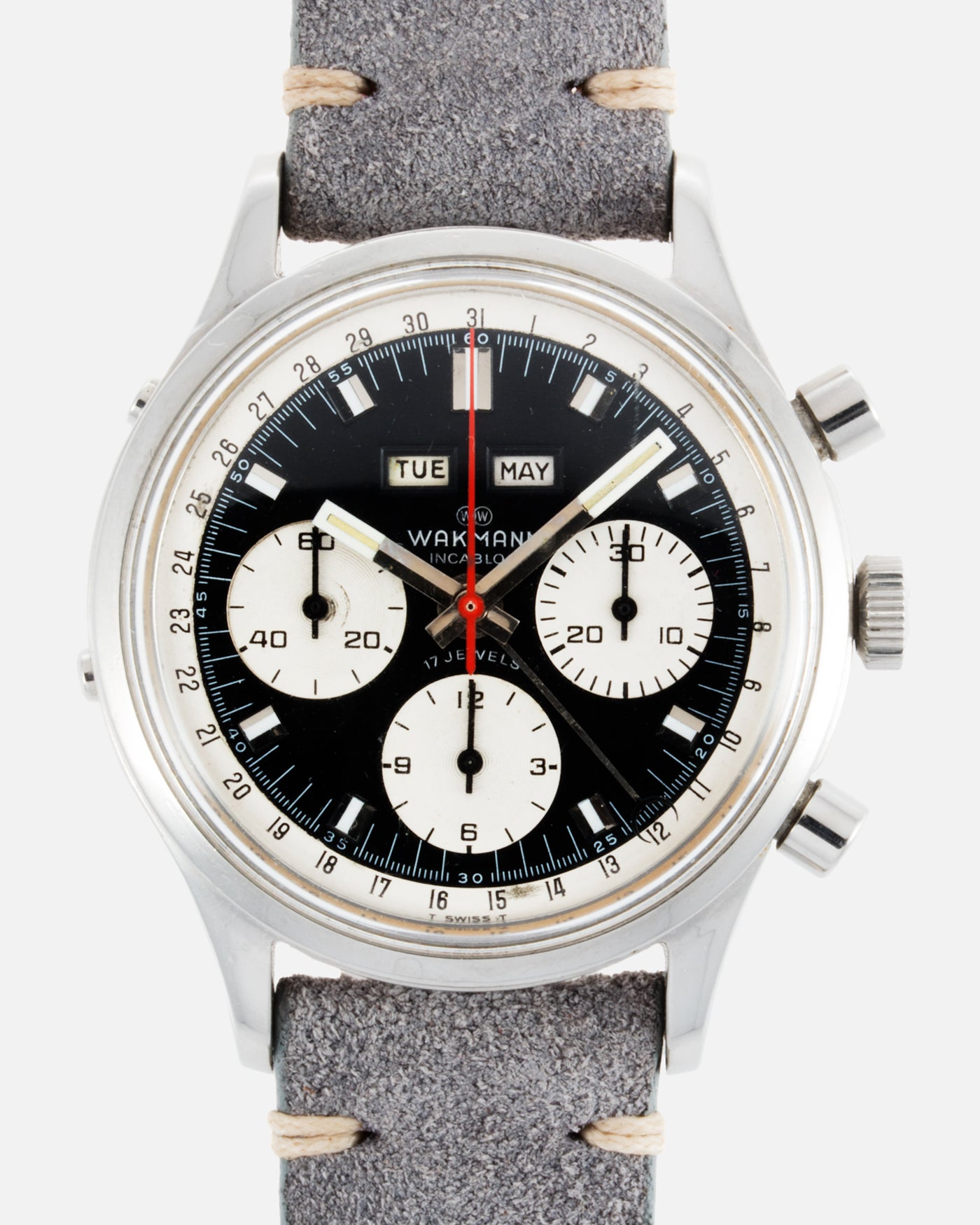 Wakmann Triple Calendar Chronograph 39mm