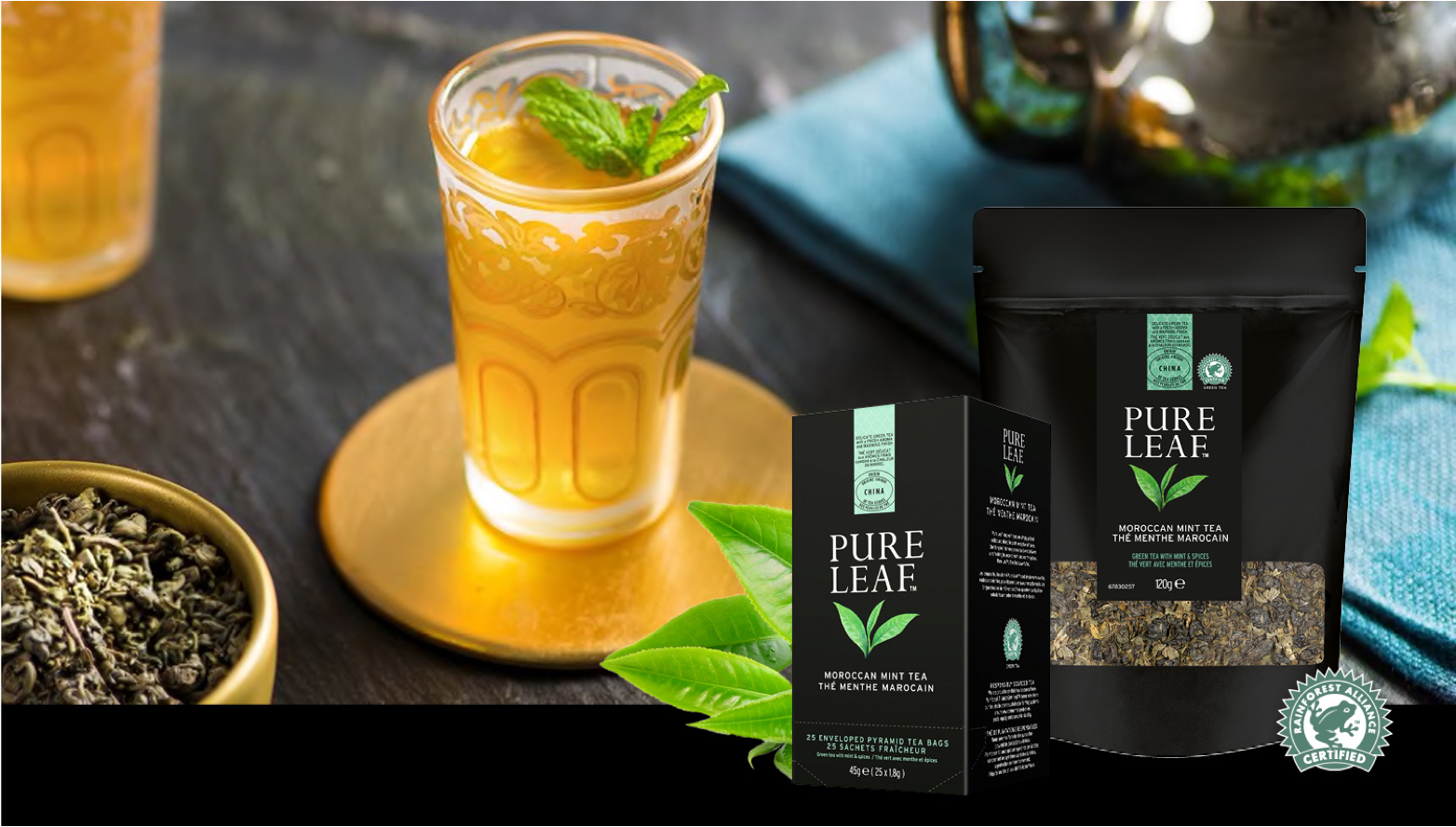 Pure Leaf moroccan mint