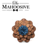 Wooden Brooch Lapel Flowers - LF22