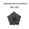Wooden Brooch Lapel Flowers - LF31