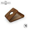 WOOD PHONE STAND WITH Curved Wood
