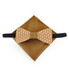 Wooden bow tie set With Wood boxes