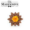 Wooden Brooch Lapel Flowers - LF04