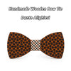 Merbau Wooden Bow ties