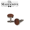 Sapele Wooden Cufflinks