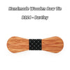 Wooden Bow ties B111-B116