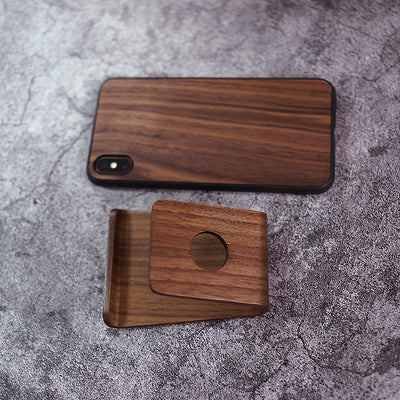 Wood Phone holder