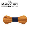 Zebra Wooden Bow Ties H111 - 116