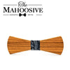 Zebra wood Bow Ties H121 - 126