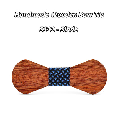 Sapele Wooden bow ties S111-S116