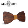 Merbau Wooden bow ties M71-78