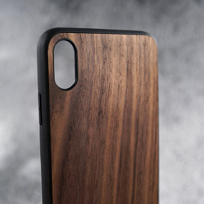 WALNUT WOOD PHONE CASE