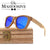Wood sunglasses DM-78