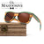 Wood sunglasses CZ-03
