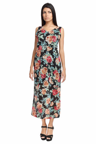 Racer Back Maxi Dress Front