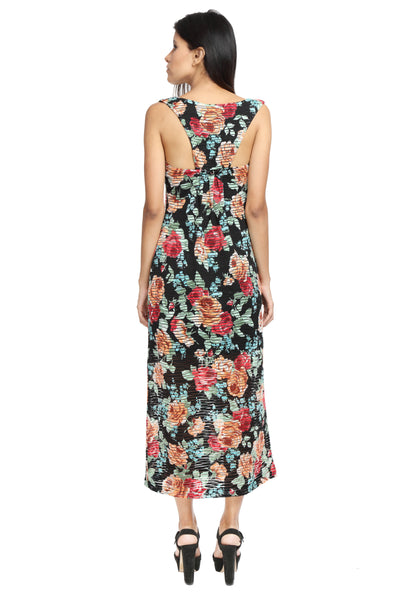 Racer Back Maxi Dress Back