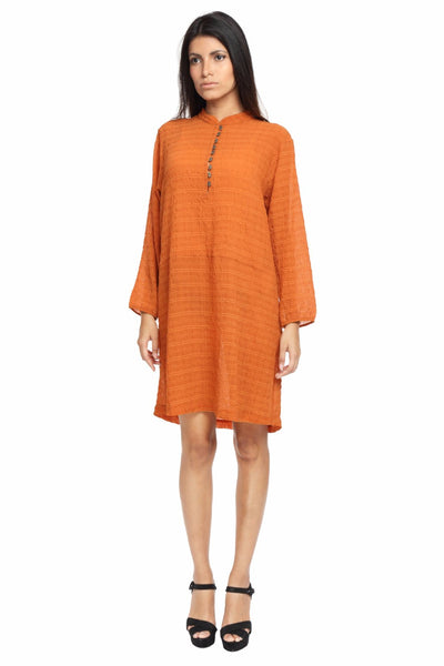 Full Sleeve Tunic Dress Front