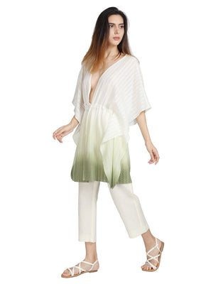 Summer Kaftan in Corn Fabric