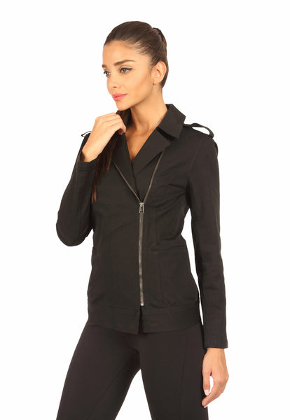Biker Jacket Black Side