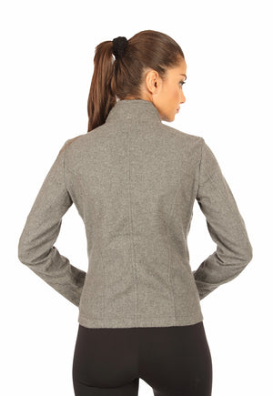 Napoleon Jacket in Grey Back