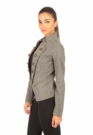 Napoleon Jacket in Grey Side