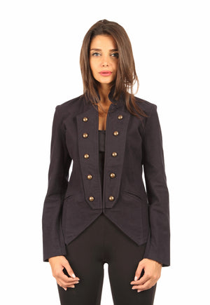 Napoleon Jacket in Navy Front 1
