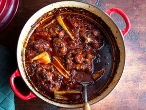 How To Prepare Oxtail Braised With Tomato & Celery?