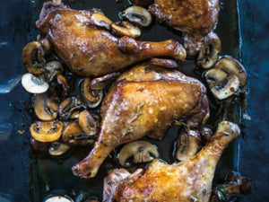 Australian Confit Duck Legs Skin-On | Balsamic Duck Legs with Mushrooms | Meat Delivery