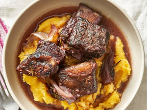 US Certified (USDA) Premium Black Angus Short Rib Cubes | Braised Short Ribs in the Oven | Meat Delivery